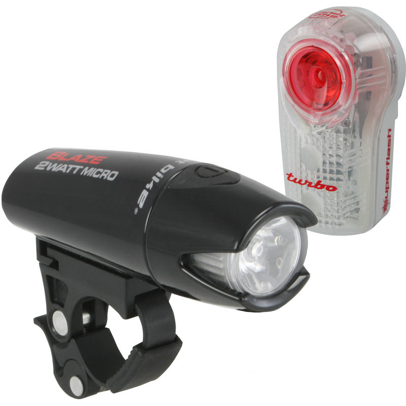 Blaze 2 Watt Micro/Superflash Turbo Light Set