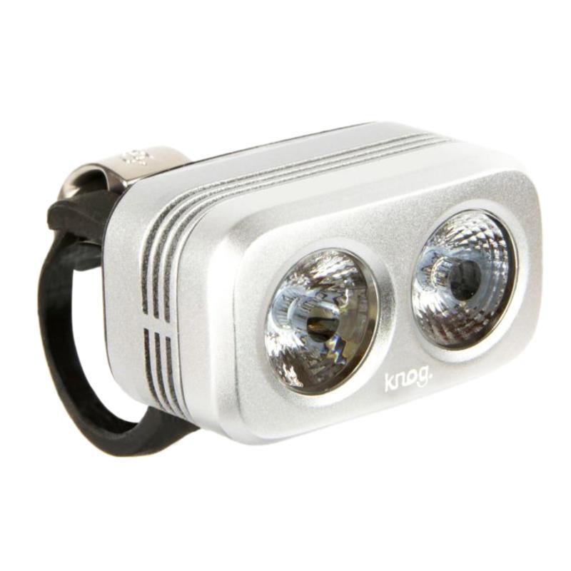 Blinder Road 250 Bike Light Silver