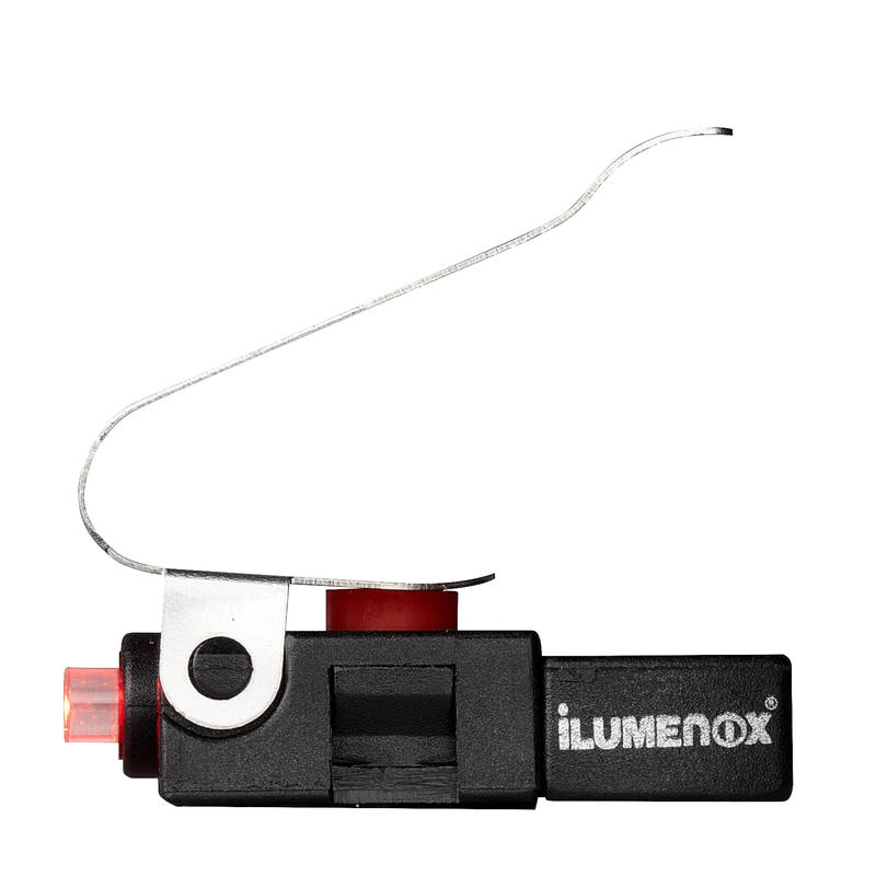 Feu arrière rouge Nano Mini Noir
