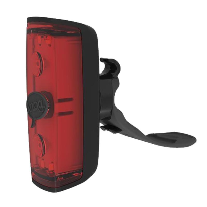 Feu arrière de vélo rouge POP r Noir
