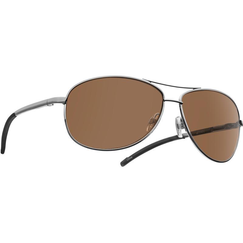 Ace Sunglasses Gunmetal/Brown
