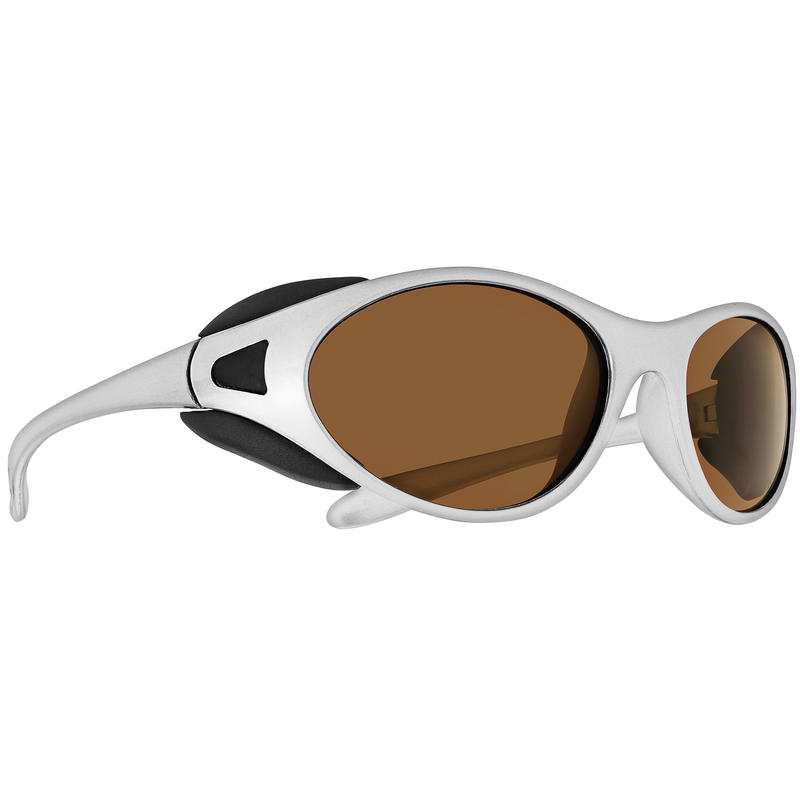 Chinook Sunglasses Metallic Silver/Brown Blue