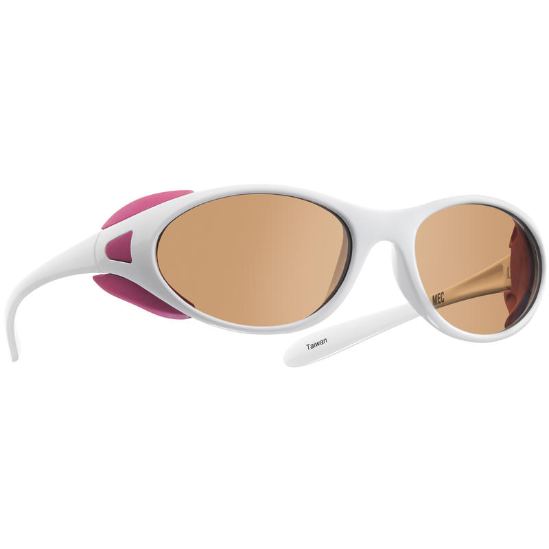 Chinook Sunglasses White/Brown Blue Blocking Lens
