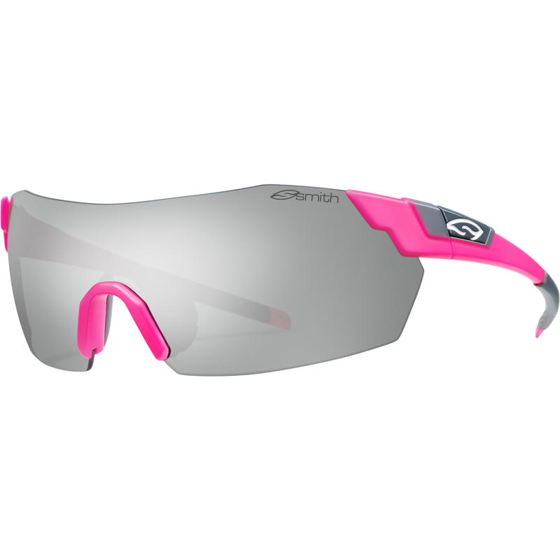 Pivlock V2 Max Sunglasses Matte Shocking Pink/Super Platinum