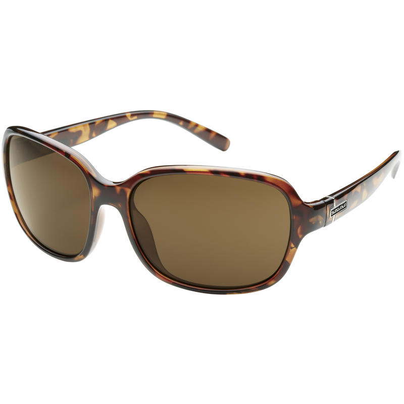 Sequin Polarized Sunglasses Tortoise/Brown