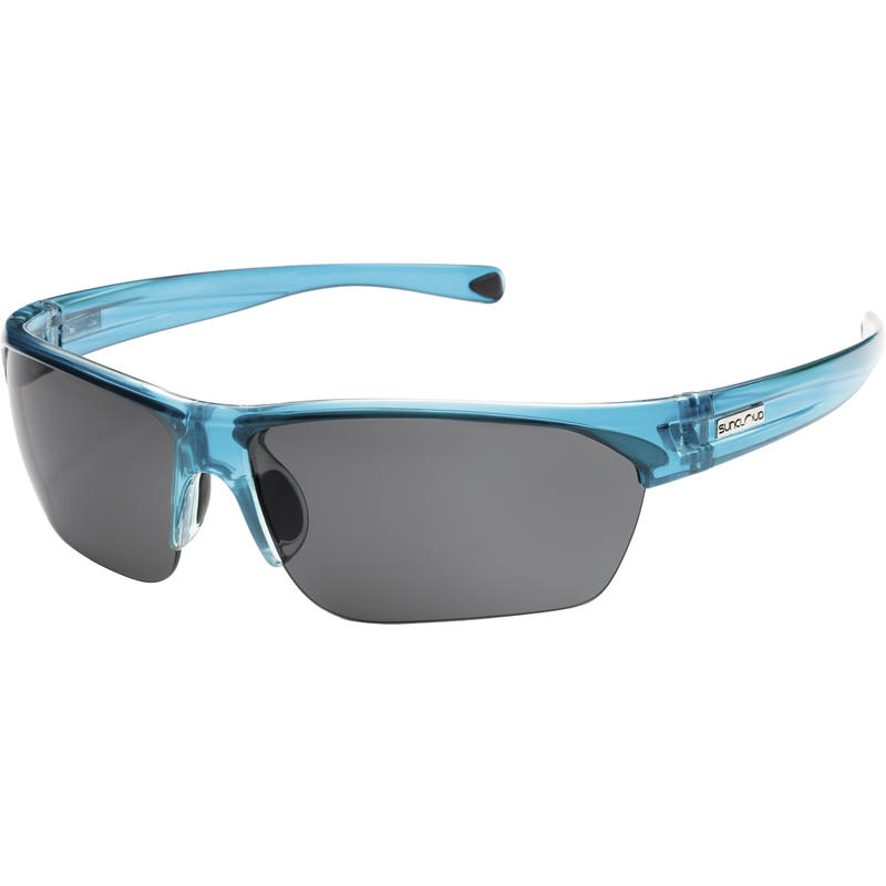 Detour Polarized Sunglasses Crystal Teal/Grey