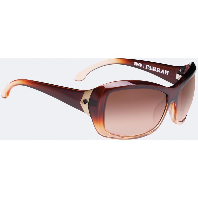 Farrah Sunglasses Peach Blossom/Bronze Fade