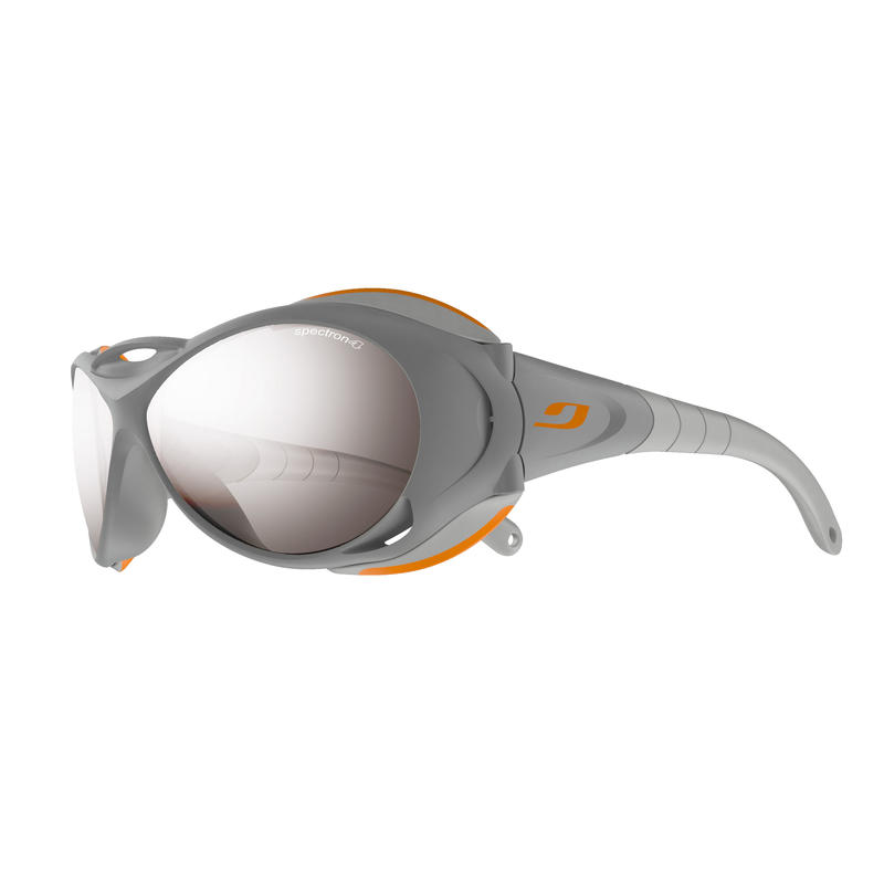 Explorer Sunglasses Light Grey Orange/Brown Spectron 4