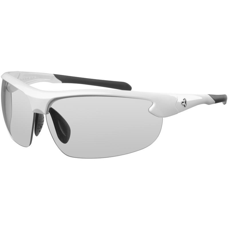 Swamper Photochromic Sunglasses Gloss White/Light Grey
