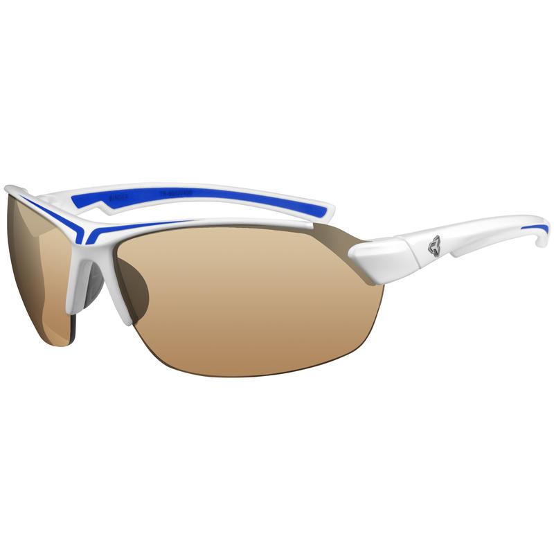 Binder Photochromic Sunglasses Gloss White Blue/Brown