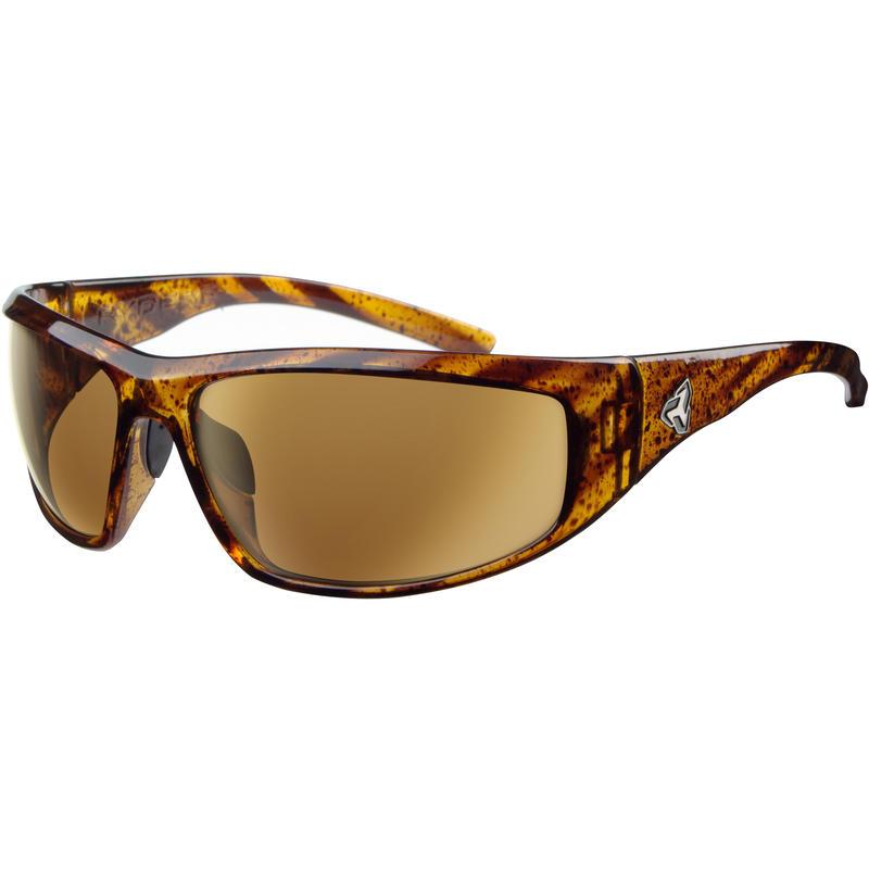 Dune Sunglasses Demi/Brown Gold mirror