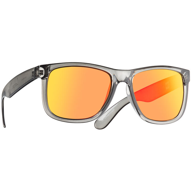 N.F. Moore Sunglasses Grey/Brown wRed Revo