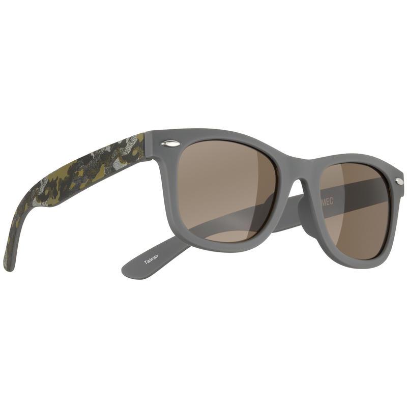 Grommet Sunglasses Grey/Brown