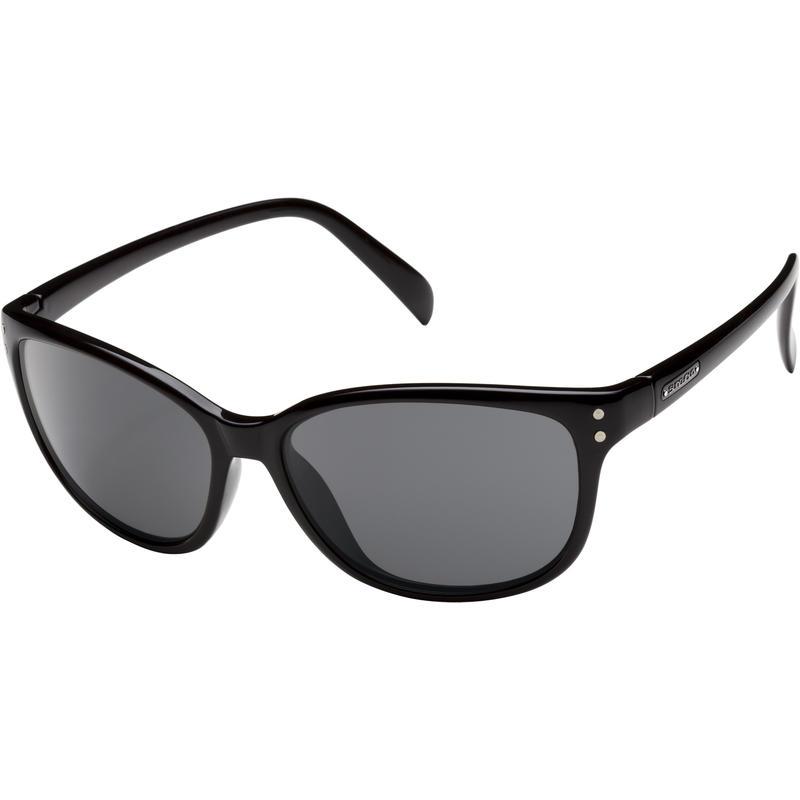 Flutter Polarized Sunglasses Black/Grey