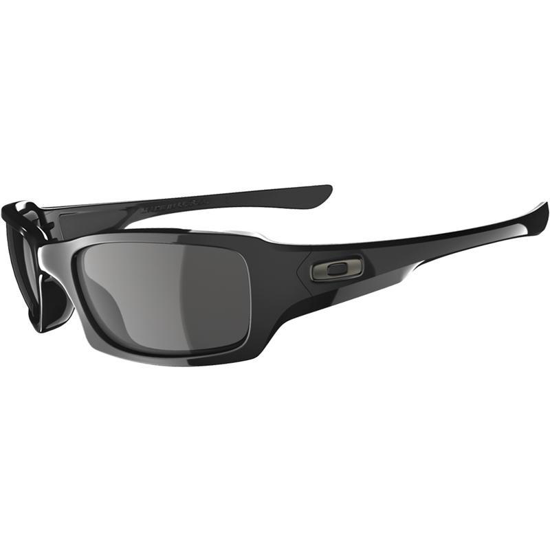 Fives Squared Sunglasses Polished Black/Grey