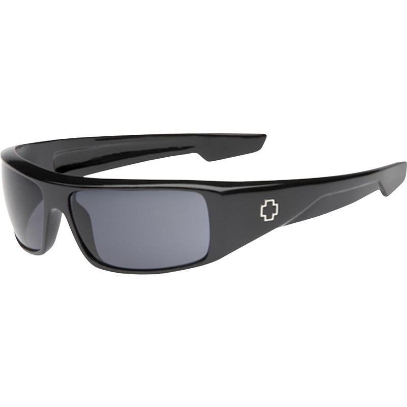 Logan Polarized Sunglasses Black/Happy Lens