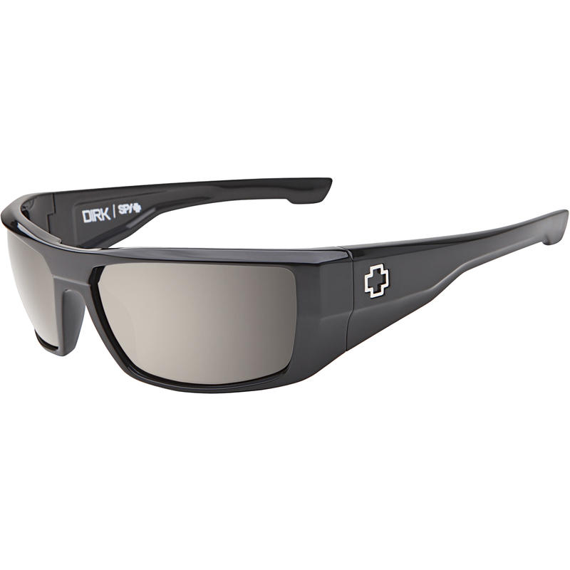 Dirk Polarized Sunglasses Black/Happy Lens