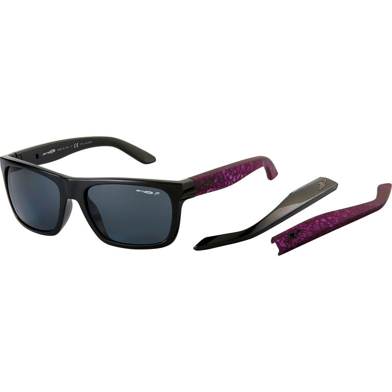 Dropout Polarized Sunglasses Gloss Black/Grey