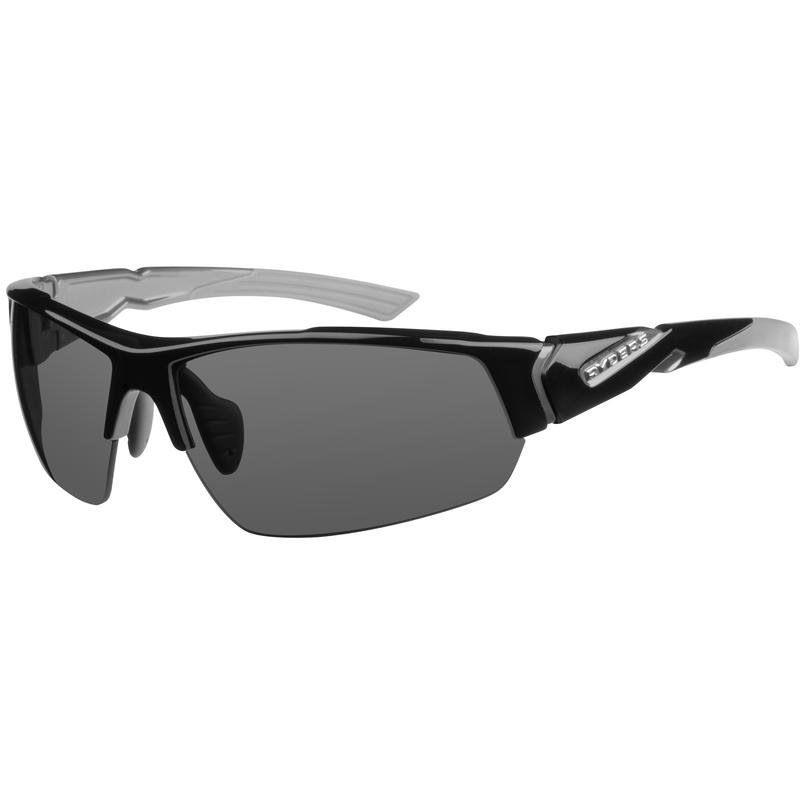 Strider Sunglasses Gloss Black with Grey/Grey