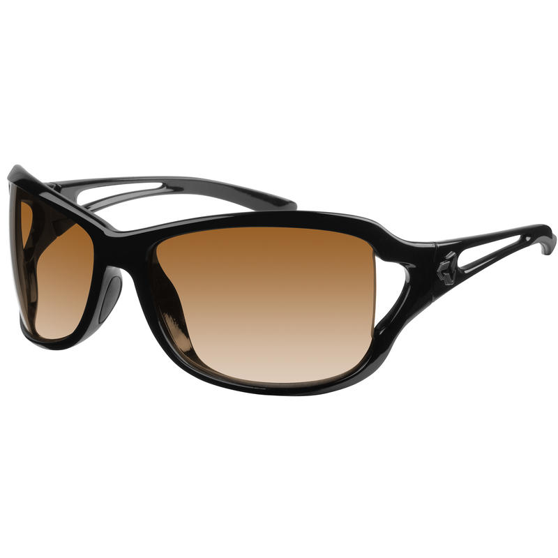 Coco Sunglasses Black/Brown Gradient
