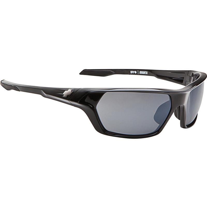 Quanta Sunglasses ANSI Shiny Black/Grey w/ Black Mirror