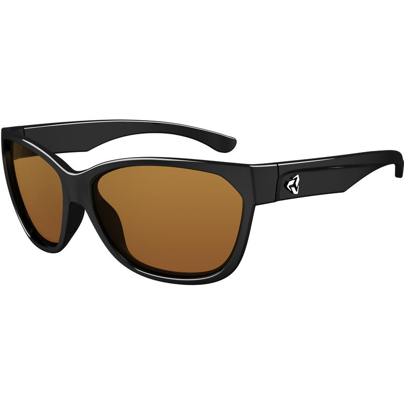 Kat Sunglasses Gloss Black/Polar Brown