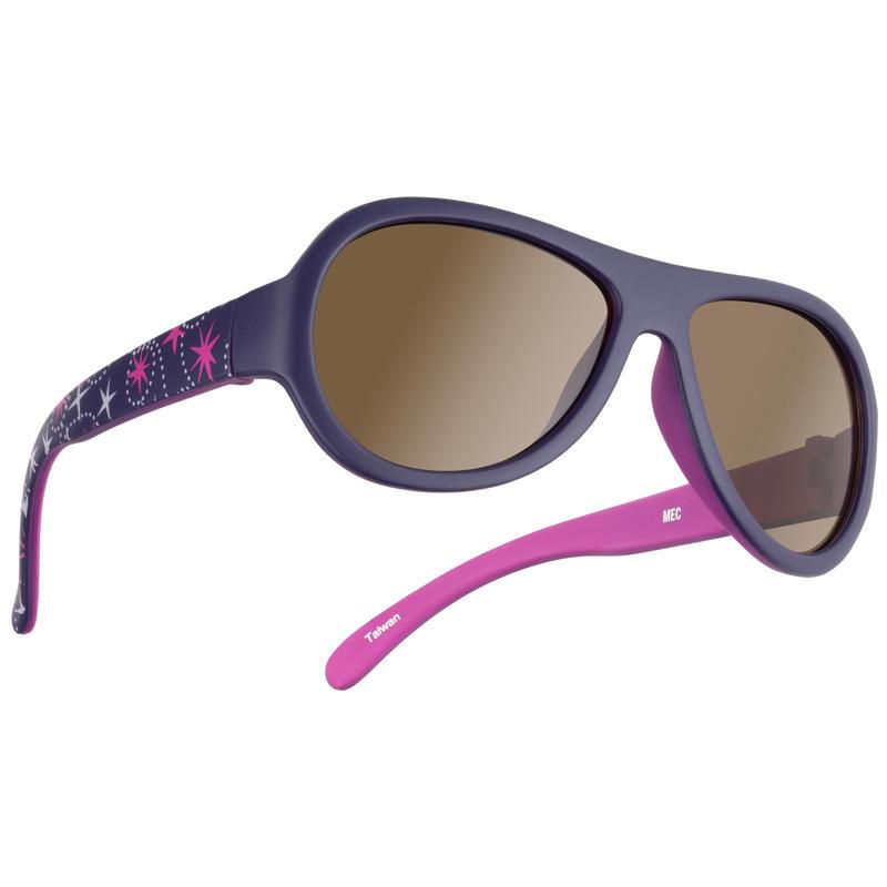 Newbie Sunglasses Purple/Brown