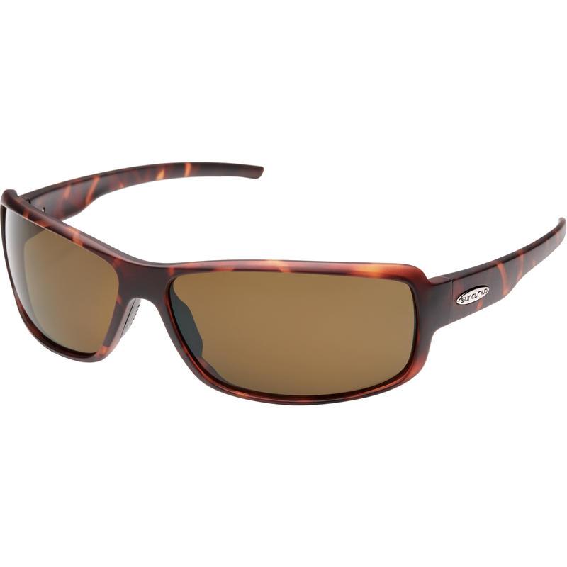 Ricochet Polarized Sunglasses Matte Tortoise/Polar Brown