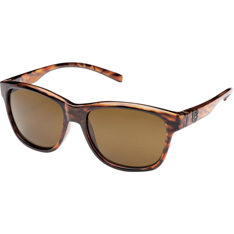 Pageant Polarized Sunglasses Tortoise/Polarized Brown