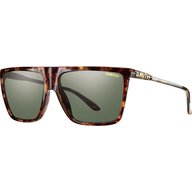 Cornice Sunglasses Yellow Tortoise/Grey Green