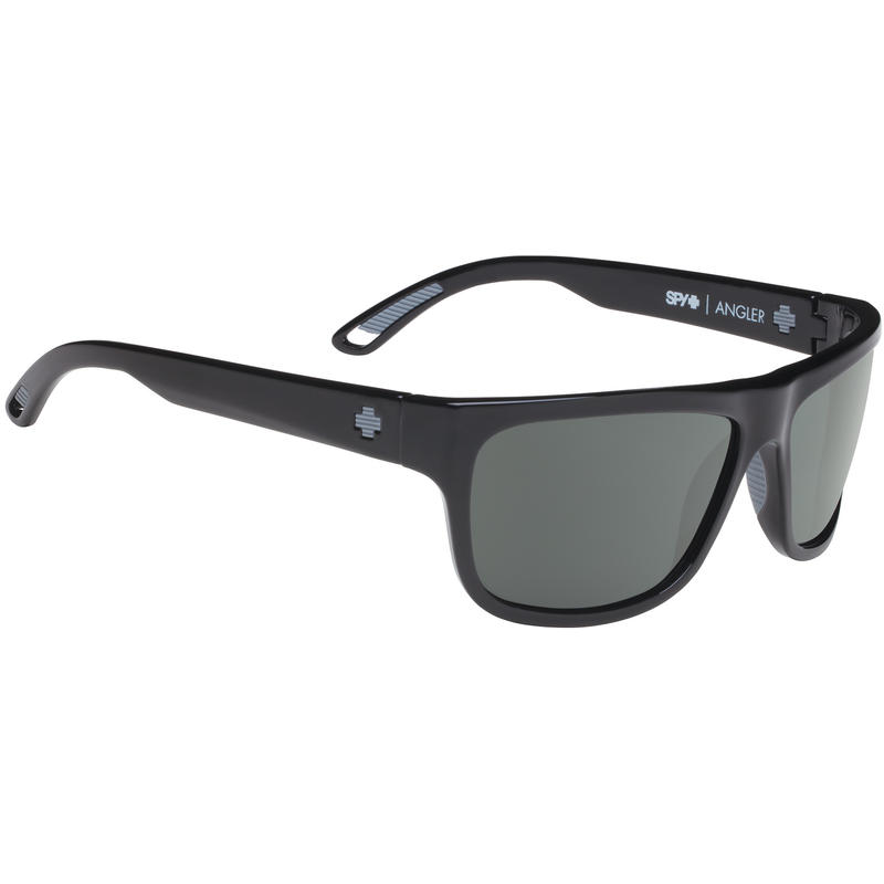 Angler Sunglasses Matte Black/Happy Grey Green