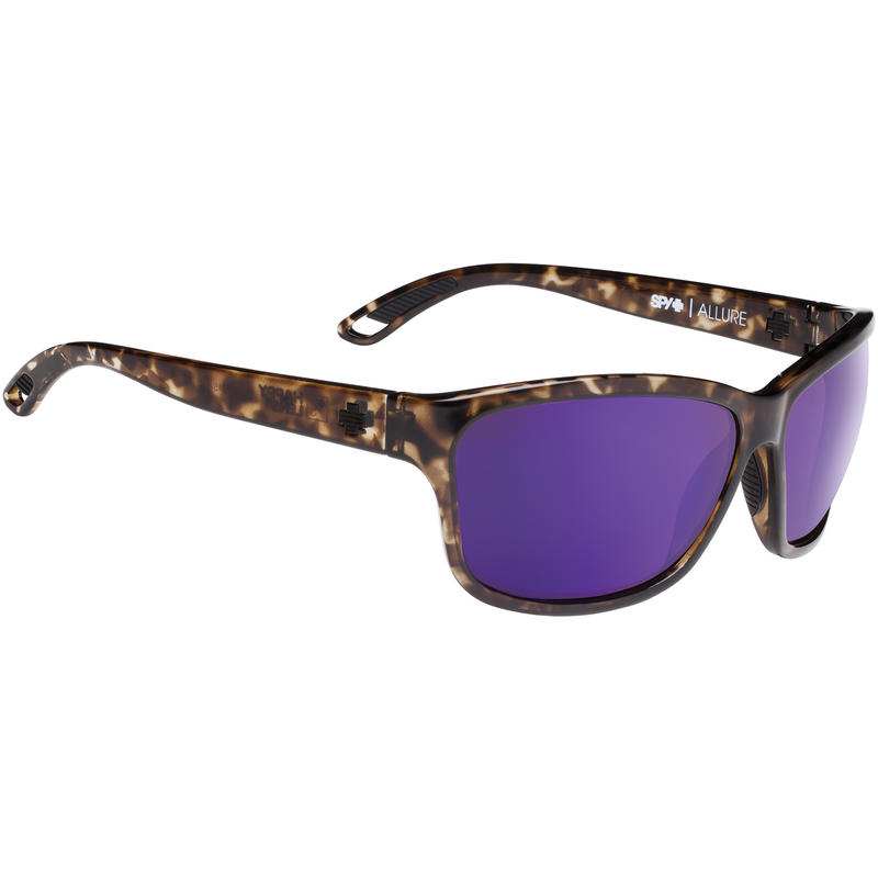 Allure Sunglasses Smoke Tort/Happy Bronze w/Purple Spectra