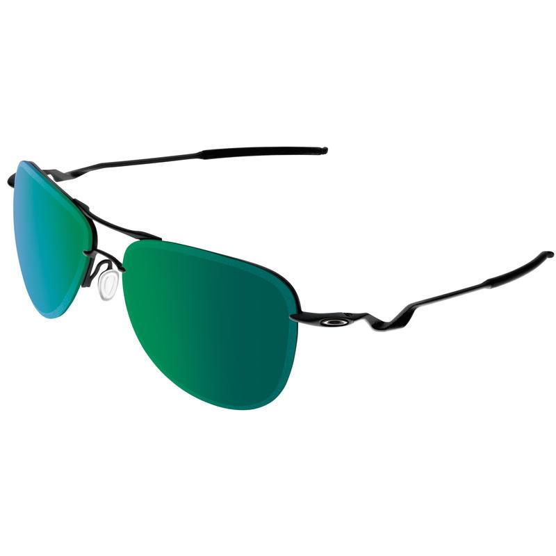 Tailpin Sunglasses Satin Black/Jade Iridium