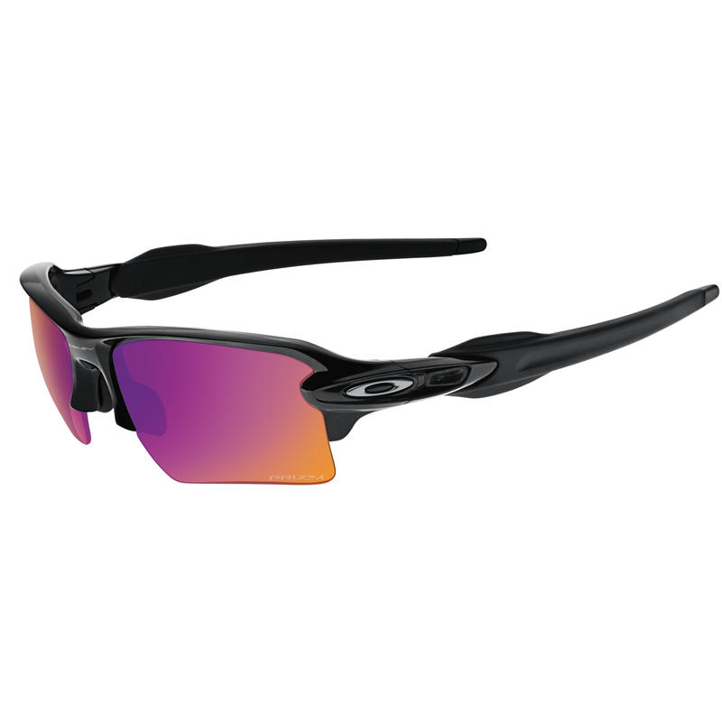 Flak 2.0 XL Sunglasses Polished Black/Prizm Trail