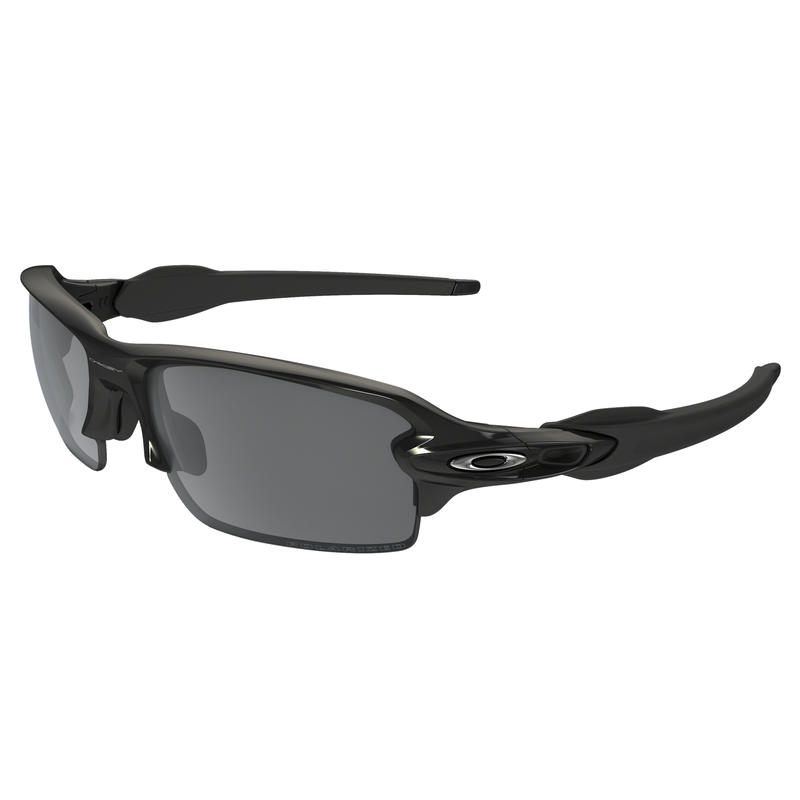 Flak 2.0 Sunglasses Polished Black/Black Iridium Polarized