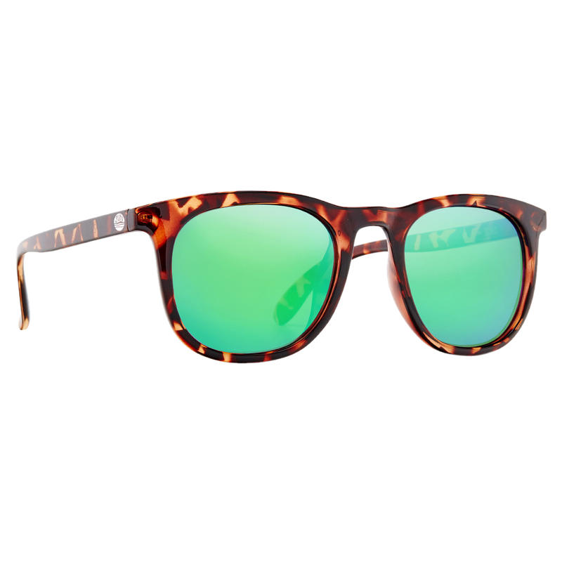 Seacliffs Sunglasses Tortoise/Polar Grey w/Emerald Flash Mirror