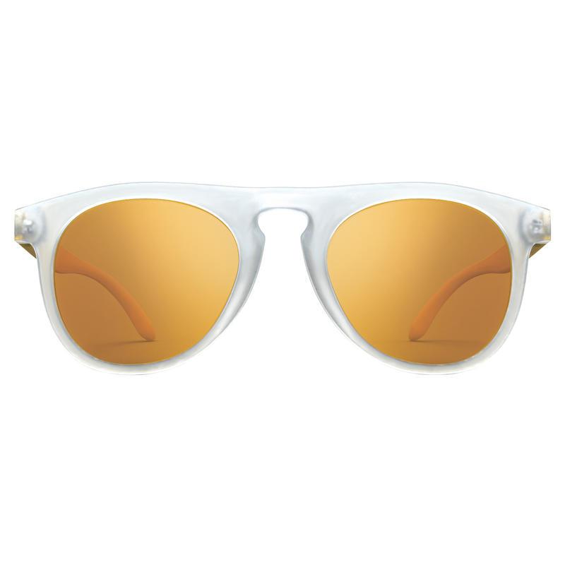 Foxtails Sunglasses Frosted/Polar Grey w/Bronze Flash Mirror