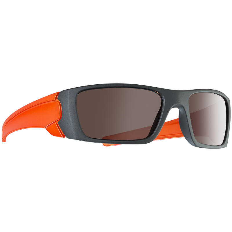 Climber Sunglasses Matte Metallic Grey/Brown