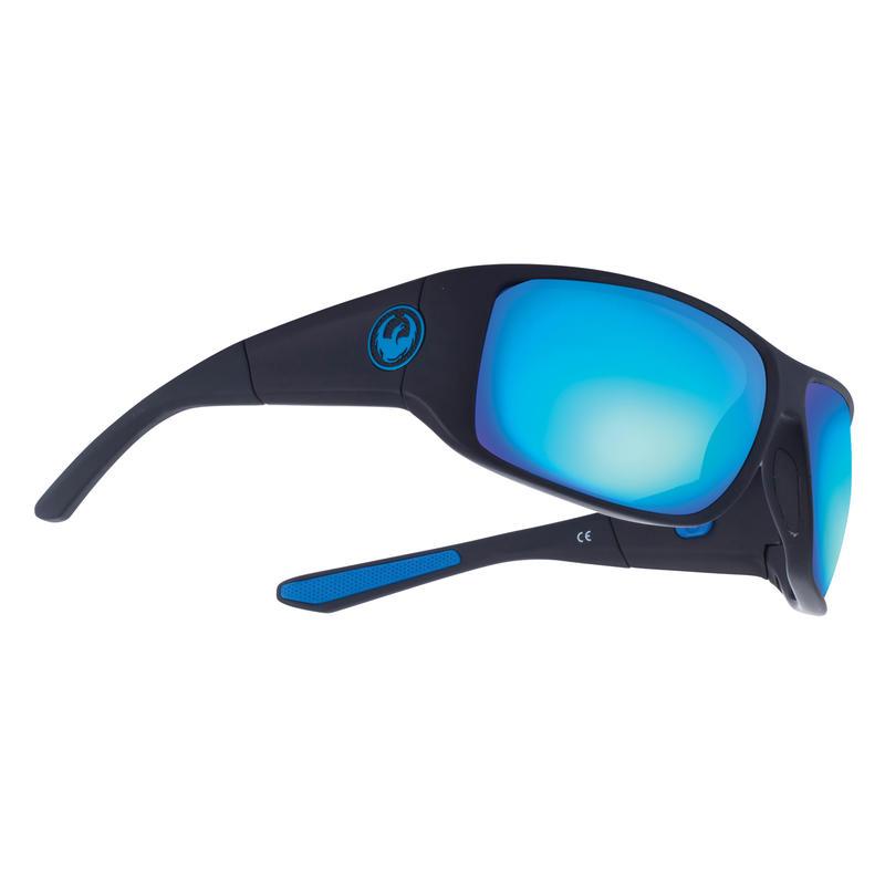 Lunettes de soleil WatermanX H2O noir mat/Brun polaire/Ion bleu hydra