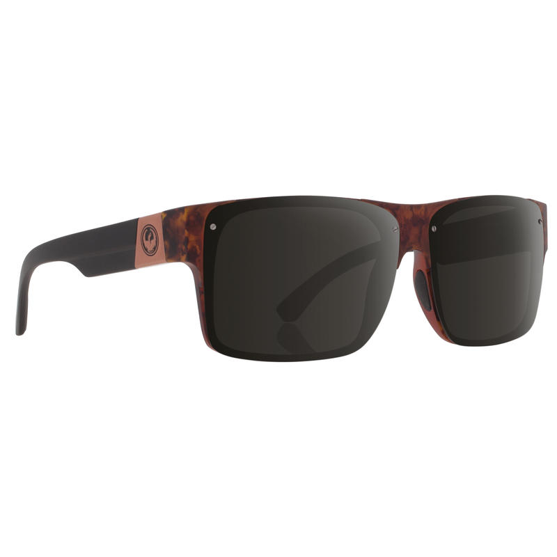 Reverb Sunglasses Polished Walnut/Grey