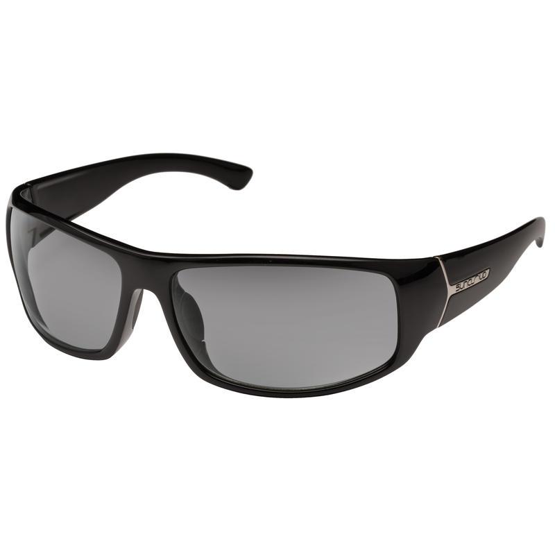 Turbine Polarized Sunglasses Black/Polar Grey