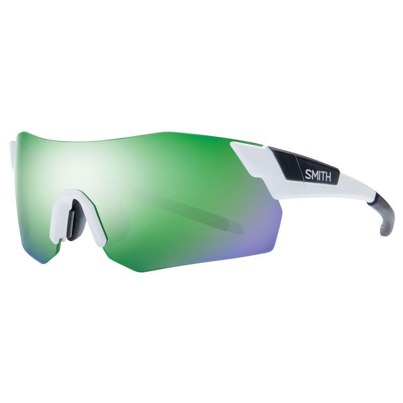 Lunettes de soleil Pivlock Arena Max Blanc mat/Sol-X vert