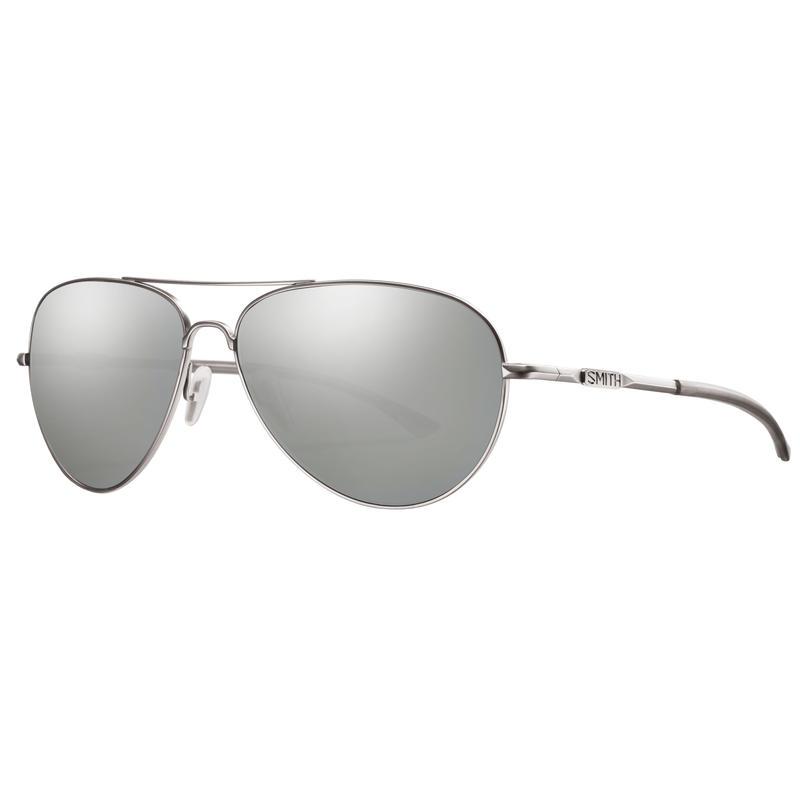 Audible Sunglasses Matte Silver/Polar Platinum ChromaPop+