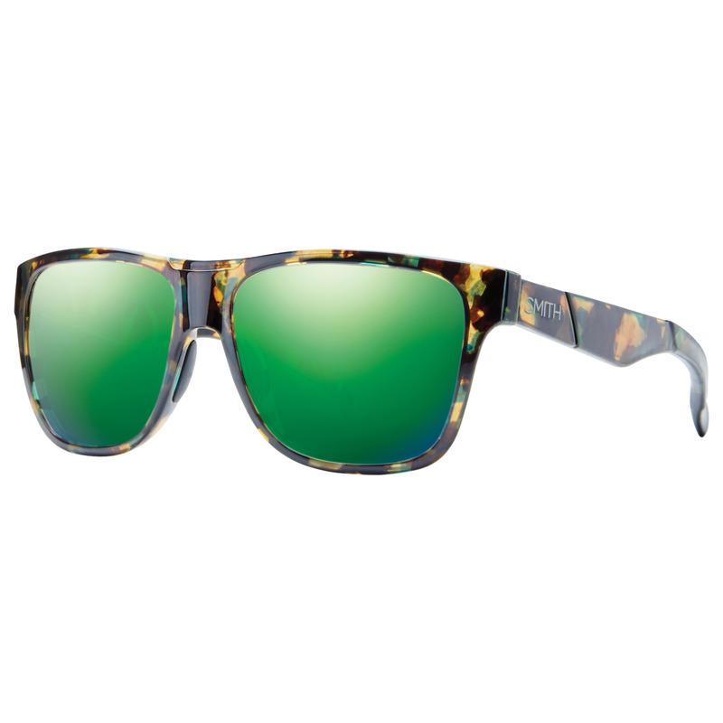 Lunettes de soleil Lowdown Tortue taches vertes/Sol-X vert