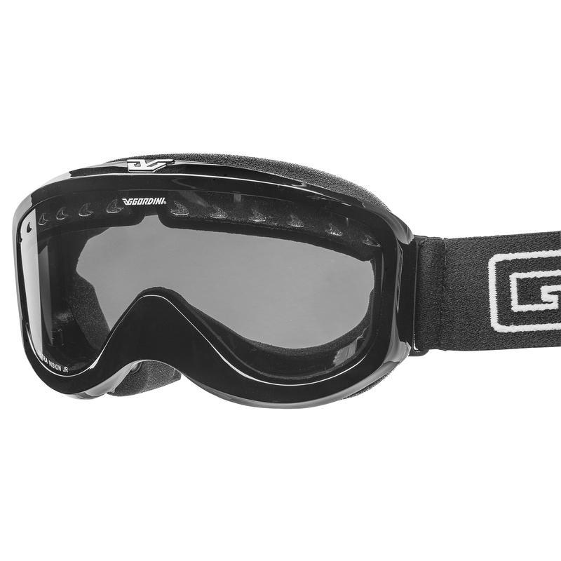 Lunettes de ski Ultra Vision Junior OTG Noir lustré/Transparent