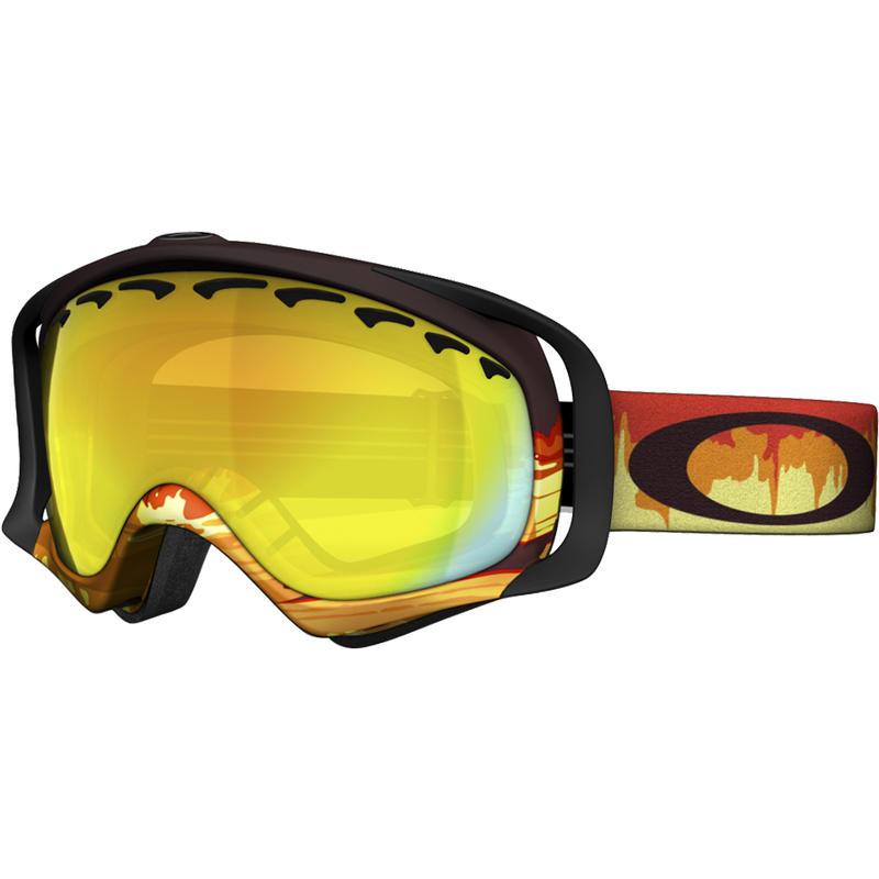 Crowbar Goggles Shockwave Fire/Fire Iridium