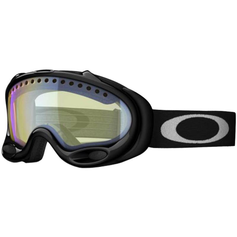 Lunettes de ski A-Frame Noir de jais/Jaune vif