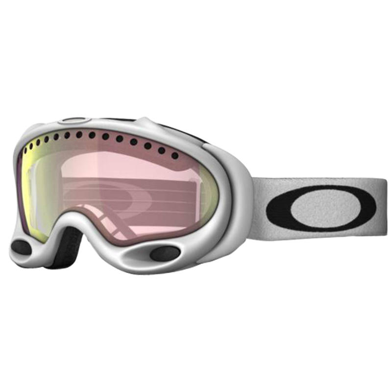 A-Frame Goggles (Alternative Fit) Matte White/VR50 Pink Iridium