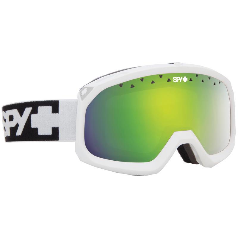 Lunettes de ski Trevor Blanc/Jaune/Spectre vert