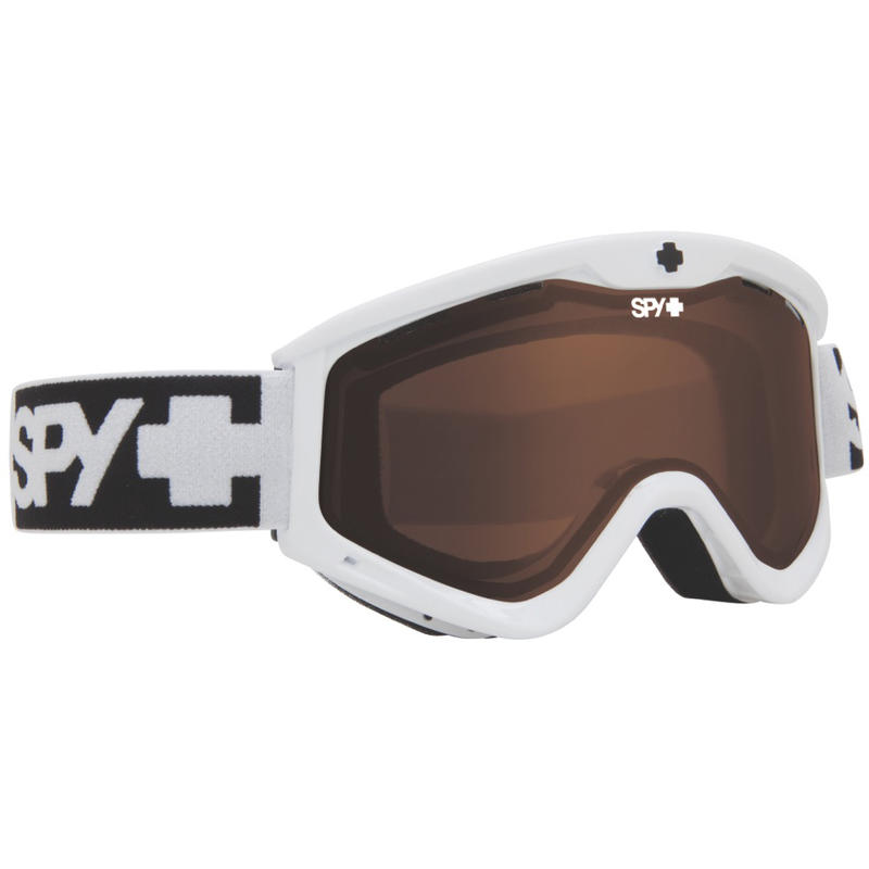 Lunettes de ski Targa3 Blanc/Bronze